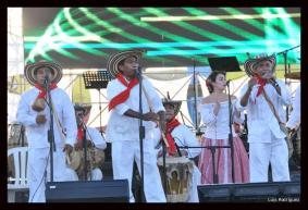 Los Gaiteros de San Jacinto fue la agrupación folclórica que más aplausos se llevó, luego de interpretar sus éxitos.