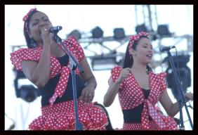 El Grupo Encanto interpretó música tradicional del folclor de la Región Caribe.
