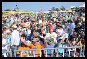 El público no se cansó de aplaudir cada una de las presentaciones de las orquestas que participaron en la versión 43 del Festival de Orquestas, uno de los eventos más tradicionales del Carnaval de Barranquilla.