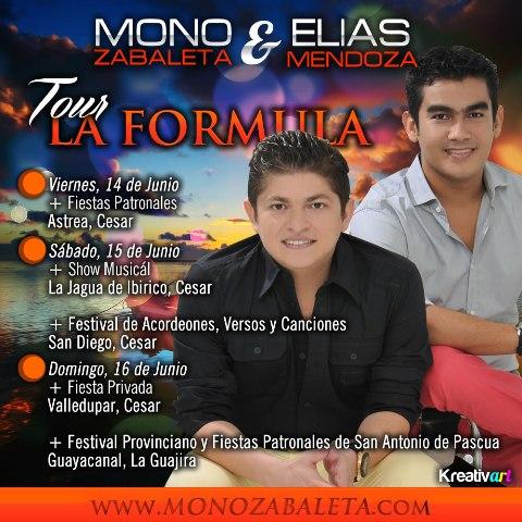 MONO - TOUR LA FORMULA