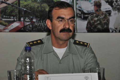 General Rodolfo Palomino, Director de la Policía Nacional.