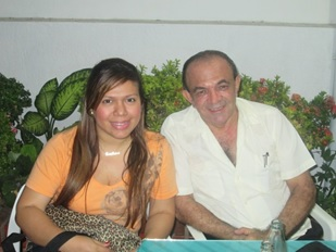 Ana Luisa Cotes y Jaime Hinojosa Daza
