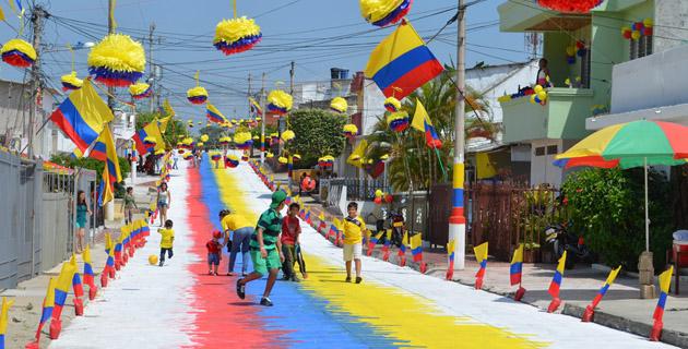 El caribe celebr el d a de la independencia for Decoracion del hogar barranquilla