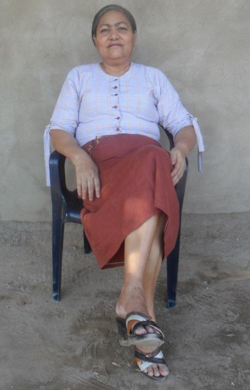 Luz Eneida Amaya Becerra. Foto Anaís Suárez