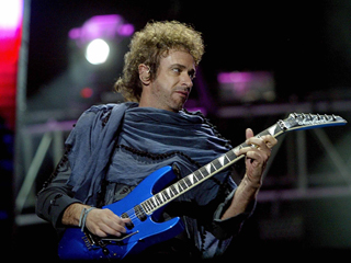 Gustavo Cerati of Argentina's rock group
