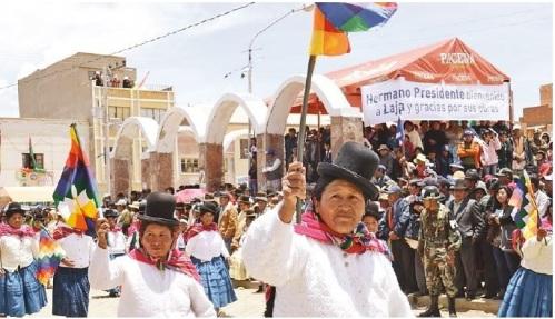 Desfile Costumbrista La Paz