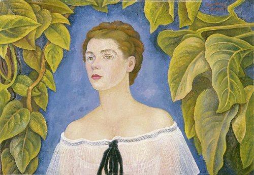 Foto: Cortesía  Retrato de la Sra. Beteta (1946), de Diego Rivera. Colección Sura. @juampa_ramirez