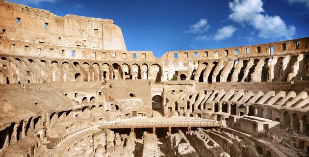 Arena del coliseo romano quedar a como la original for Como se llama el ministro del interior