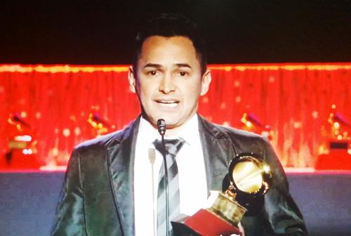 Jorge Celedón y su nuevo Grammy Latino