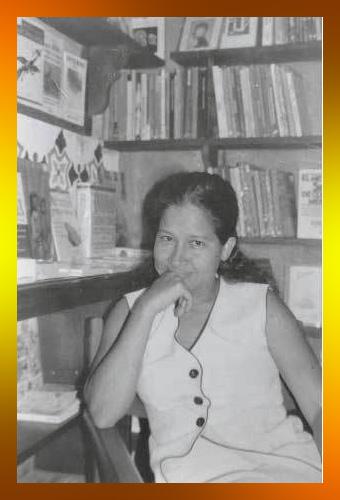 Lolita Acosta, periodista vallenata, la mujer del hablado pausado pero decisiones firmes.