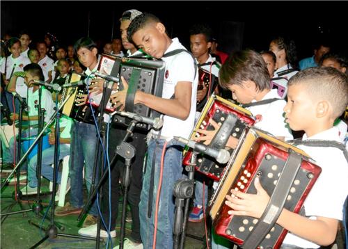 Proyecto musical Claro Colombia - Fundación FLV