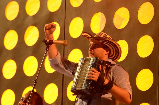 Mauricio de Santis Rey Vallenato. Foto Adamis Guerra