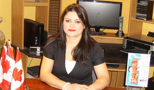 Claudia María Narváez directora de la agencia de estudiantes internacionales