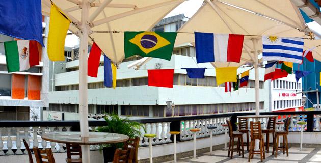 En barranquilla se siente la fiebre de la copa am rica for Restaurante terraza de la 96 barranquilla