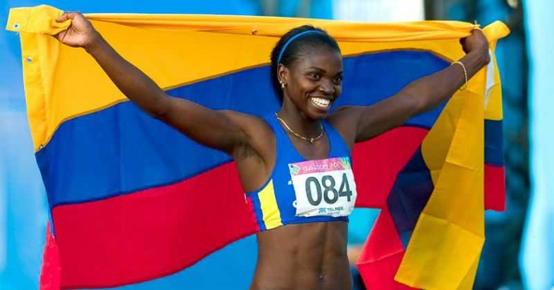 Caterine Ibargüen ganó la medalla 25 para la delegación colombiana.