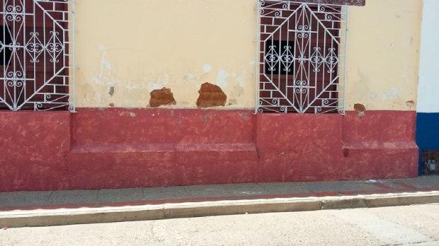 En la foto se observa el deterioro de las instalaciones del Archivo Histórico del Cesar.