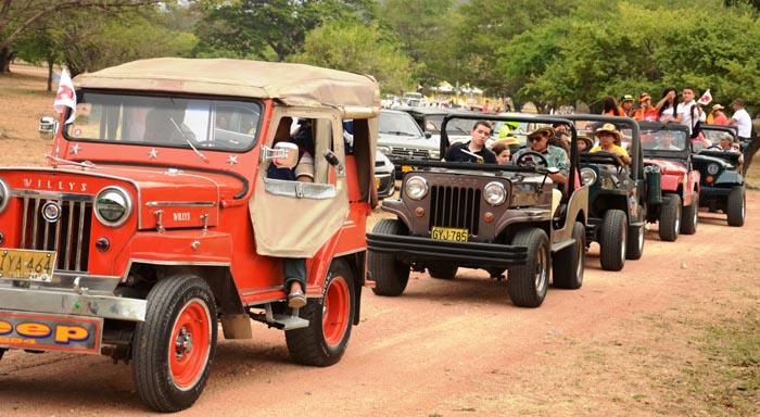 Caravana Jeep Willys Parranderos
