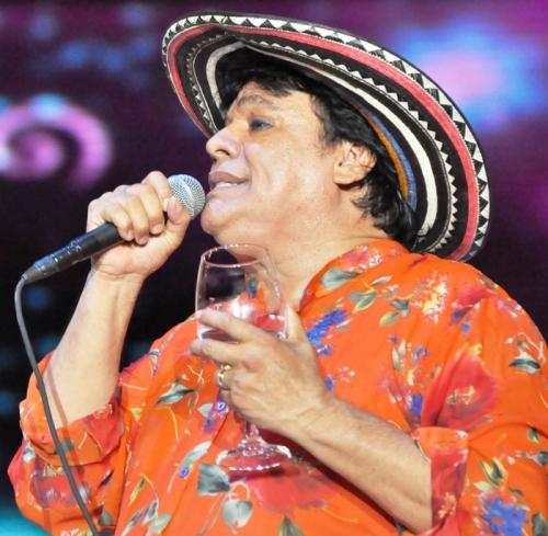 Juan Gabriel en concierto en Valledupar. Foto Edgar de la Hoz