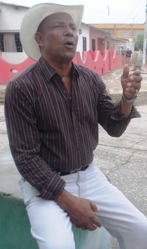 Oswaldo 'El Aparato' Rojano. - Foto Juan Rincón Vanegas