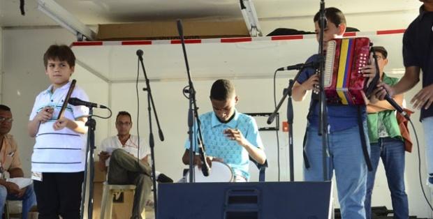Foto: Nestor De Ávila Durante el Festival Cuna de Acordeones.