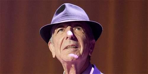 Foto: Archivo particular Cohen nació en Montreal (Canadá), el 21 de septiembre de 1934.