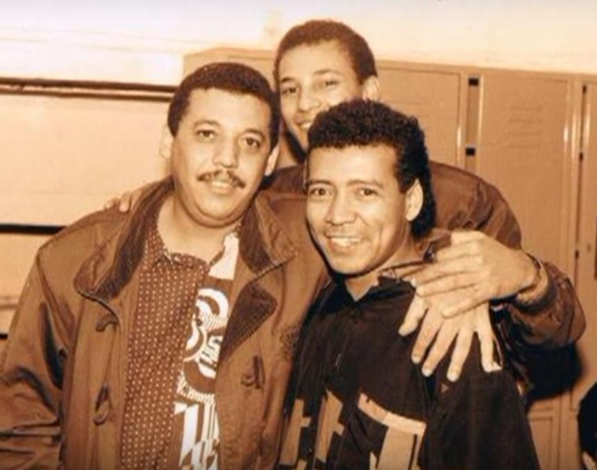 Juancho Rois y Enaldo Barrera
