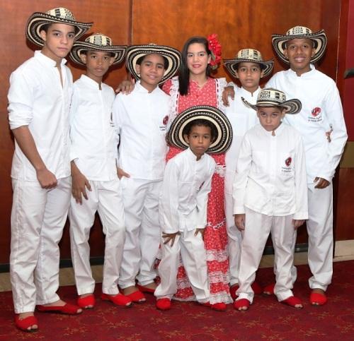 Los Niños del Vallenato Escuela Rafael Escalona - Bogotá