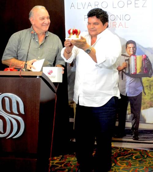 Alvaro López y Efraín Quintero Molina