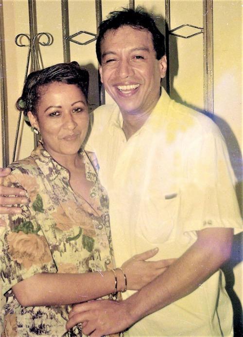 Patricia Acosta y Diomedes Díaz Foto Hernando Vergara