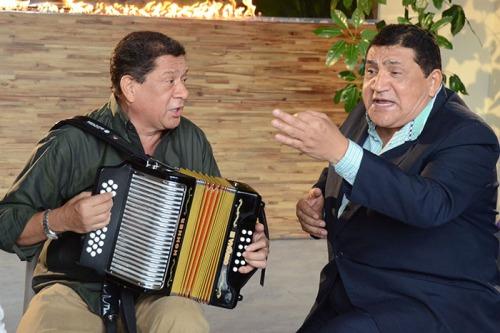 Emiliano y Poncho Zuleta Foto Adamis Guerra