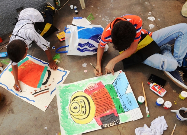 Concurso de Pintura Infantil - Fundación FLV 1