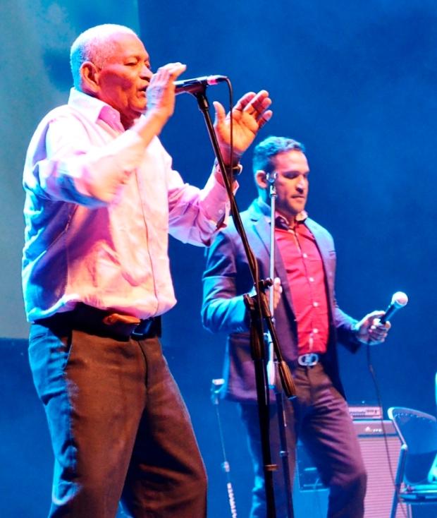 Lanzamiento Bogotá - Andrés Beleño y José Félix Ariza