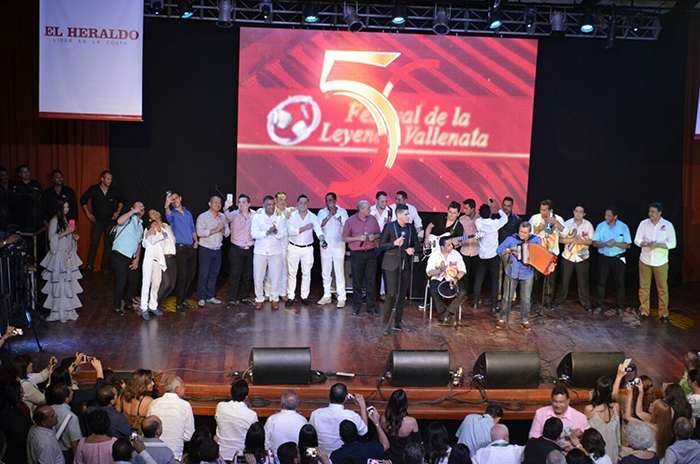 Lanzamiento Festival Vallenato en Barranquilla 1