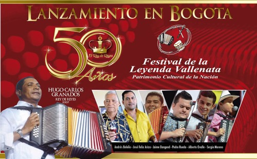 Reyes Vallenatos - Lanzamientos en Bogotá