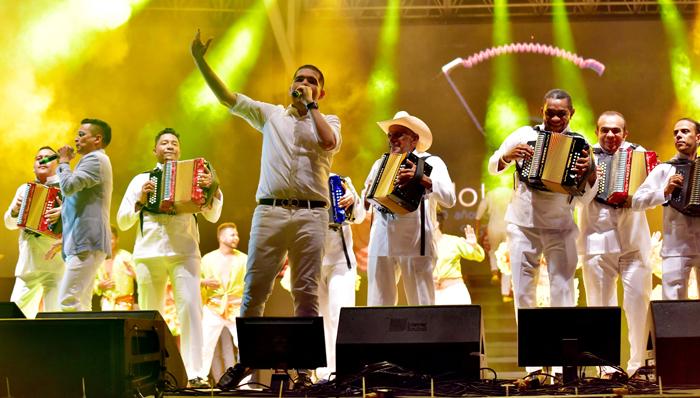 Inauguración 50 Festival de la Leyenda Vallenata 1