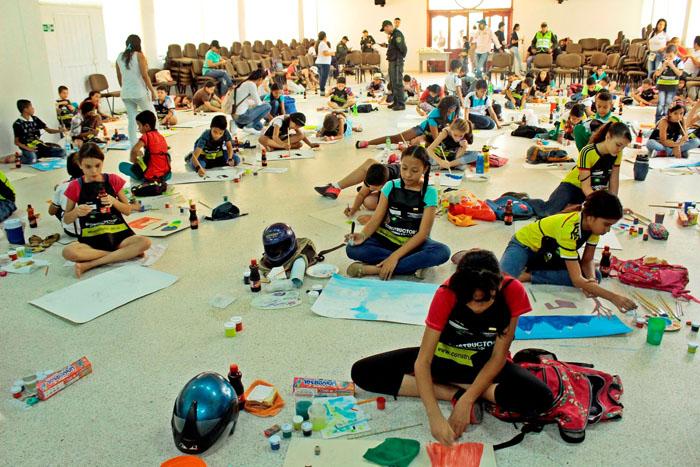 Los Niños pintan el Festival Vallenato