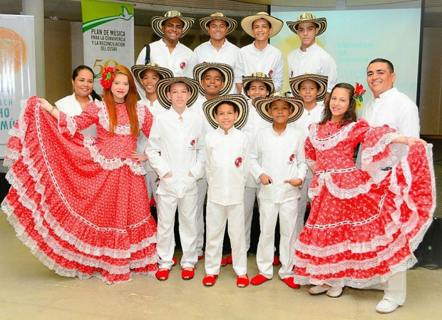 Los Niños del Vallenato de la Escuela Rafael Escalona