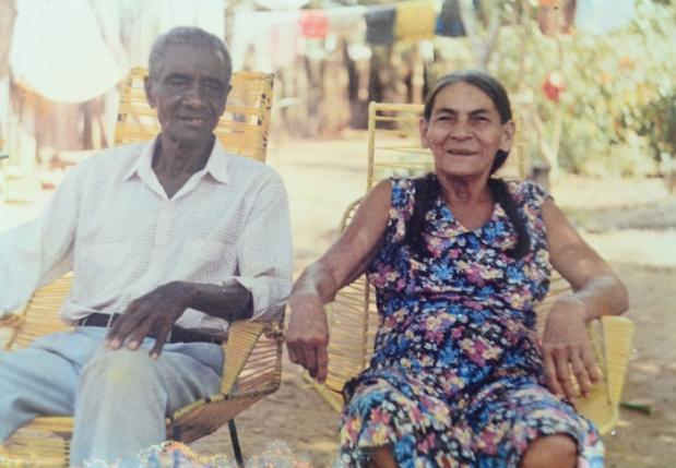 Samuel Martínez y su esposa Felipa Castro