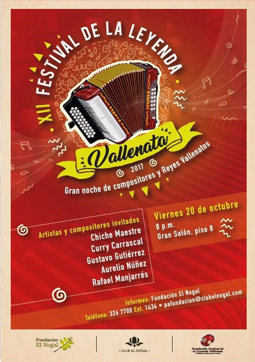 12º Festival Vallenato El Nogal