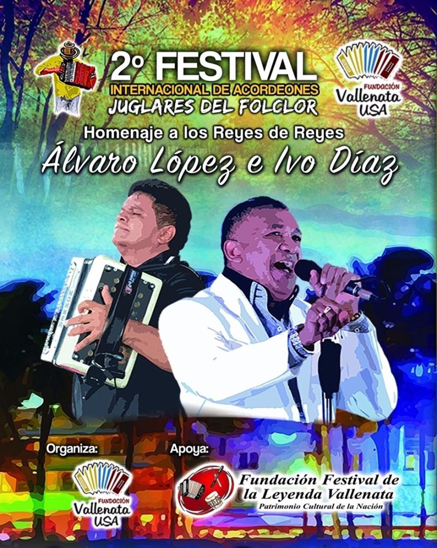 Afiche Segundo Festival Internacional de Acordeones