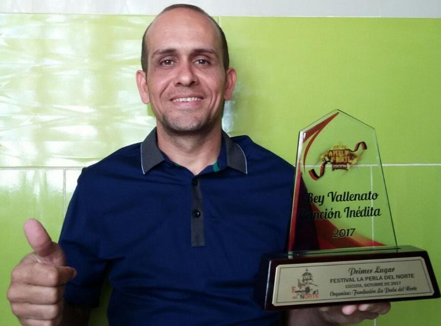 Octavio Daza Gámez, Rey de la Canción Inédita Vallenata - Cúcuta