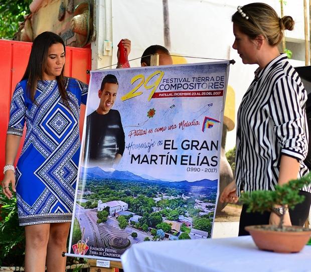 Lanzamiento del 29 Festival Tierra de Compositores de Patillal, Cesar