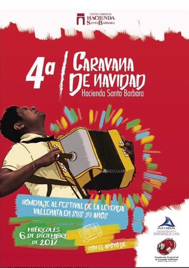 Cuarta Caravana de Navidad - Homenaje al 50 Festival Vallenato