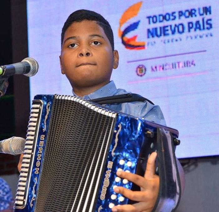 Jerónimo Andrés Villazón, Rey Infantil