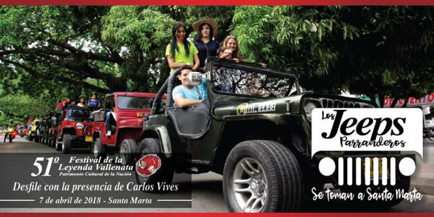 Desfile Jeep Willys Parranderos