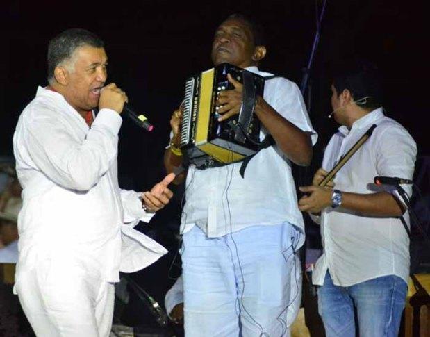 Rey de Reyes de la canción Inédita Ivo Luis Díaz y el Rey Vallenato Almes Granados, lanzamiento Festival Vallenato en Valledupar