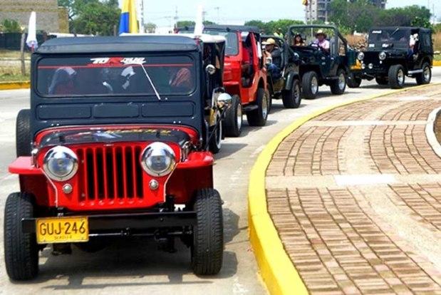 Caravana de Jeep Willys Parranderos - FFLV