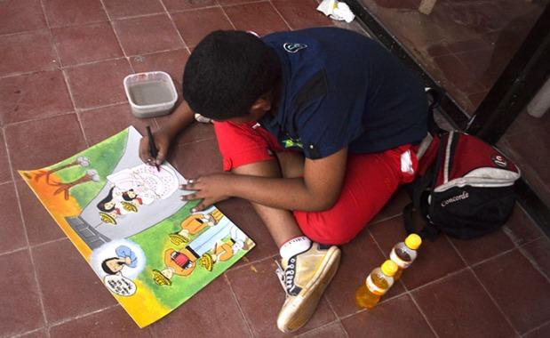 Concurso de pintura infantil 1