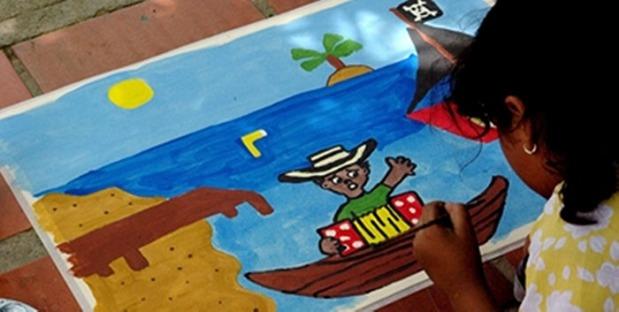 Concurso de Pintura Infantil Fundación FLV