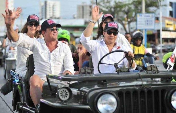 Desfile de Jeep Willy Parranderos en Santa Marta 1